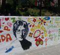 Recuperado el mural del paseo de John Lennon