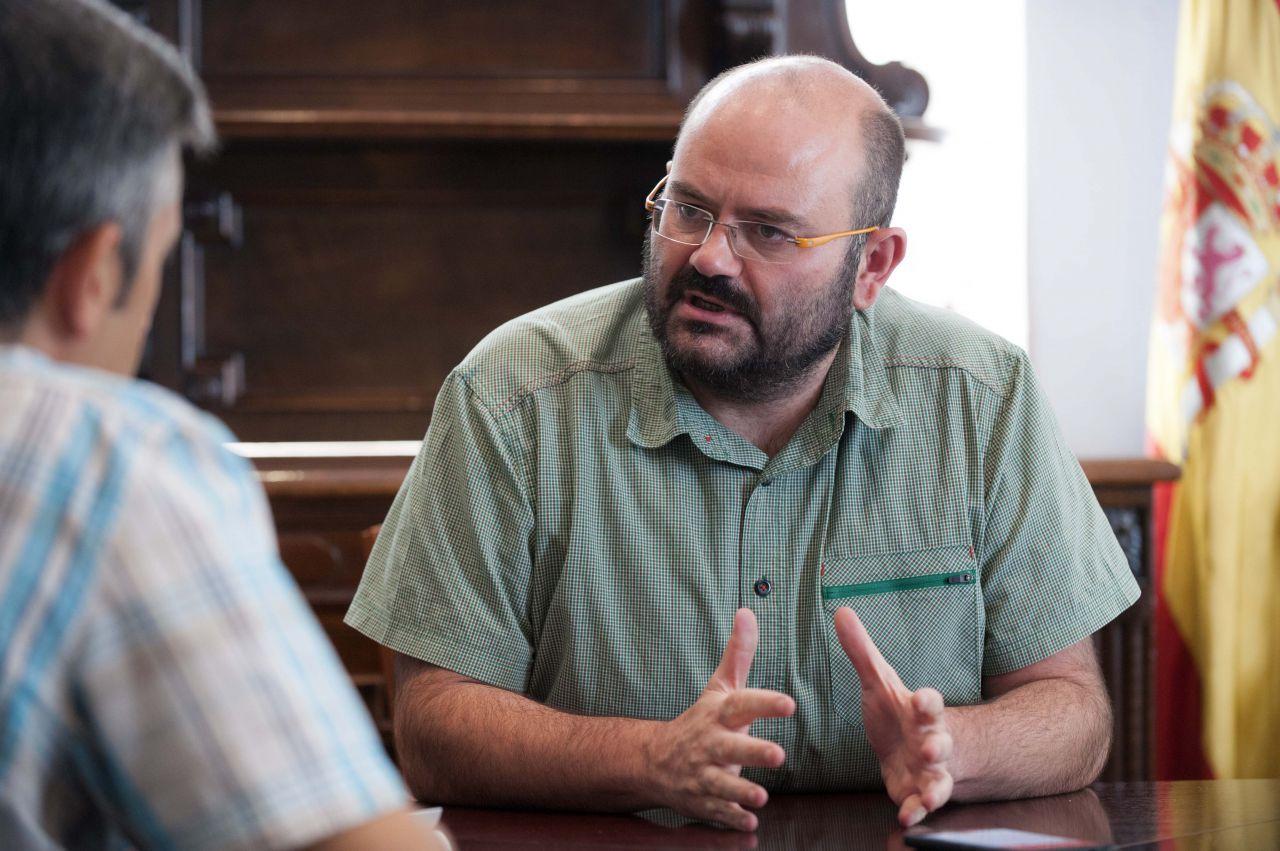 Pablo Carmona analiza en entrevista con Gaceta Local la actualidad del distrito de Salamanca, mediada la legislatura.