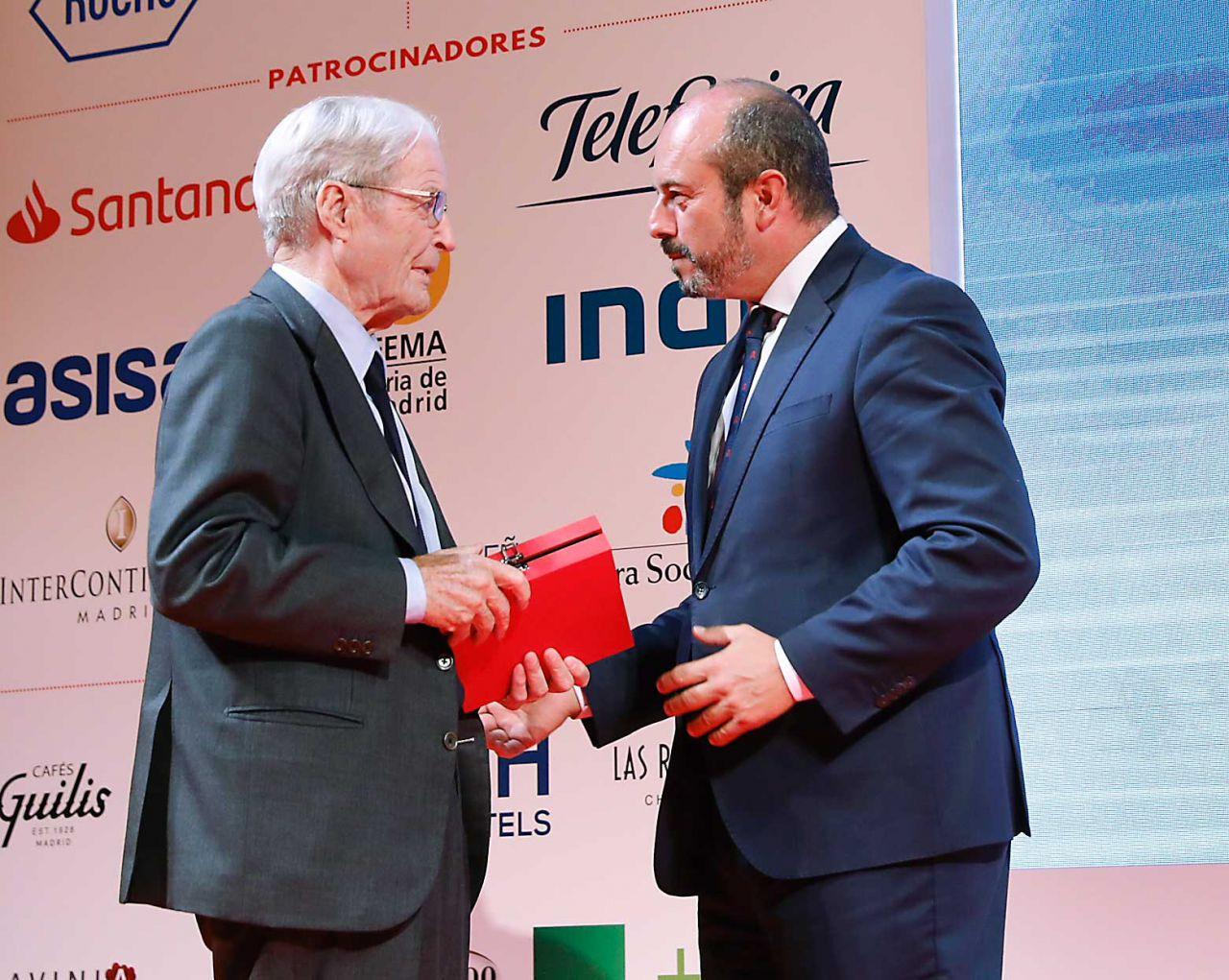 Antonio Garrigues Walker y Pedro Rollán