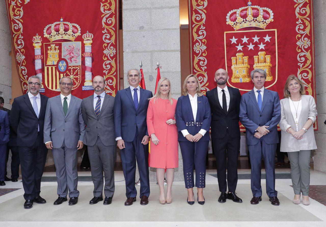 Equipo de Gobierno al completo. Septiembre de 2017