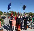Inauguración calle de Carme Chacón