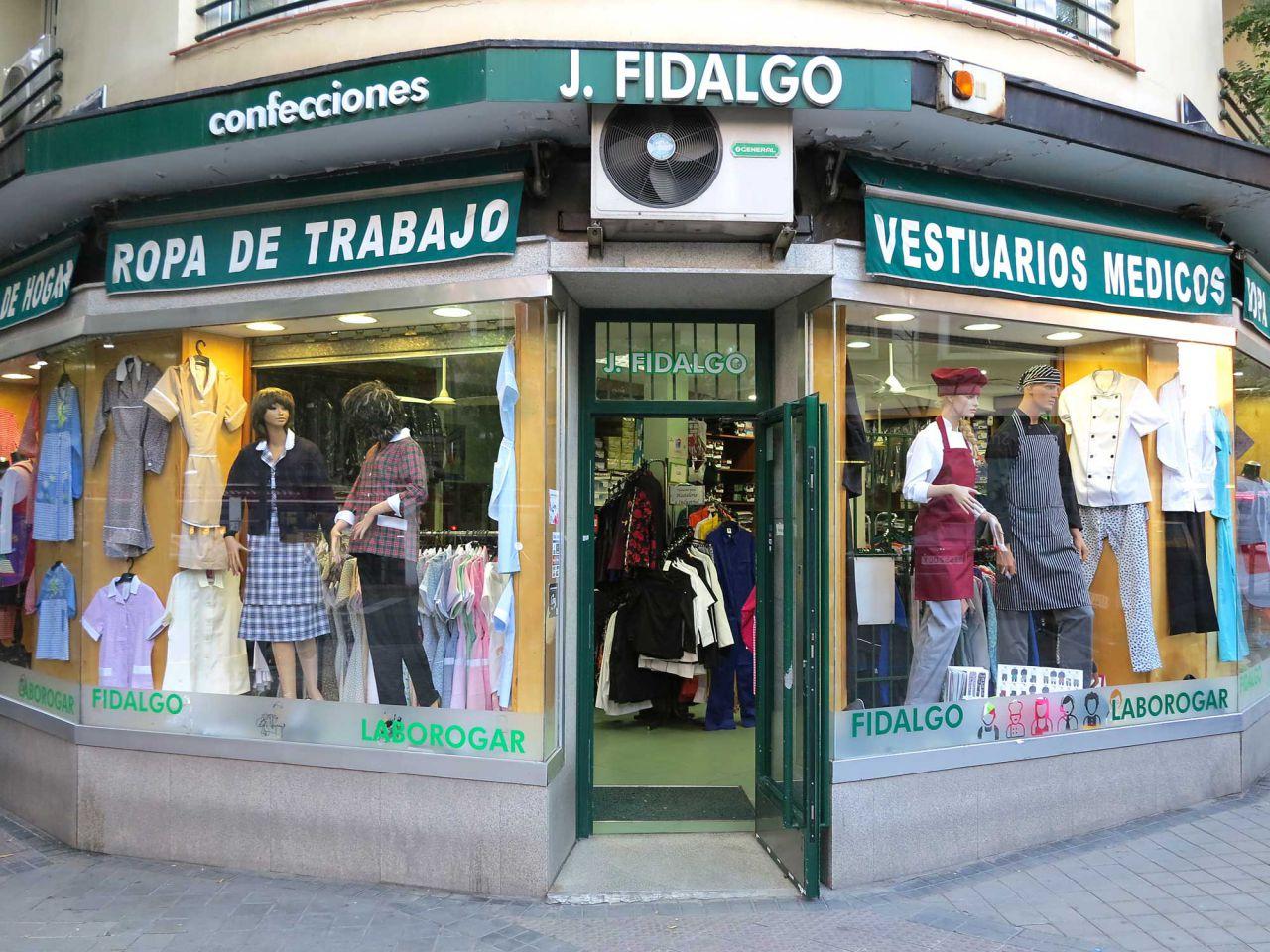 Nº 55. confecciones fidalgo  LABOROGAR Tlf. 914 02 84 53  www.confeccionesfidalgo.com
