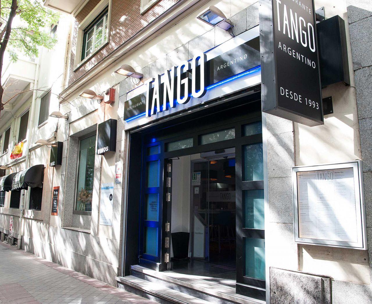 Nº 95. tango (restaurante argentino)   Tlf. 917 95 78 00  www.tangorestaurantemadrid.com
