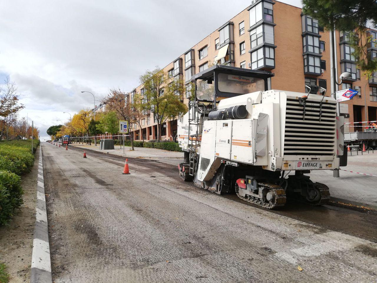 El asfaltado de la calle ha servido para revertir el ciclo carril existente.