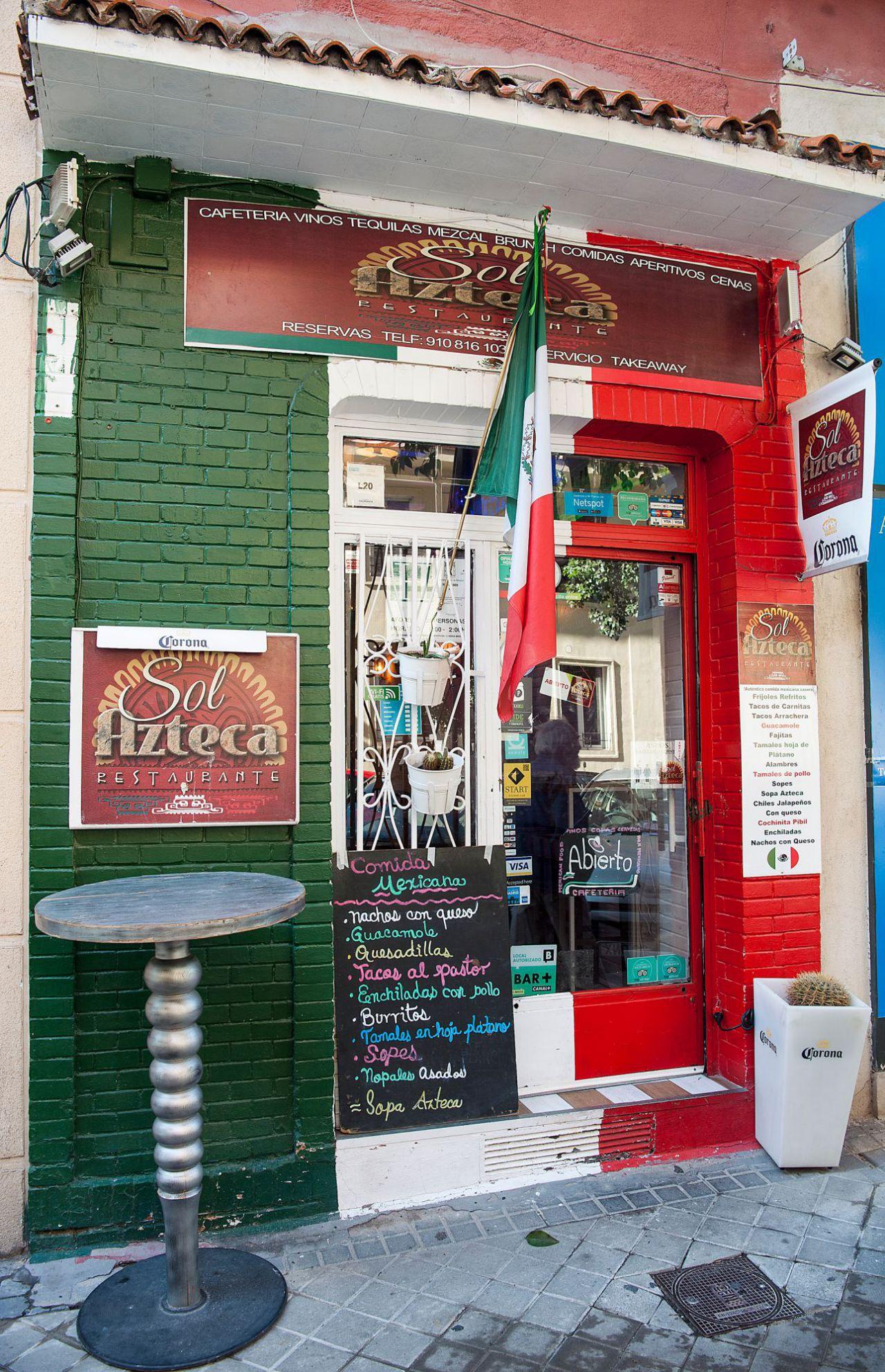 Nº 61. Restaurante Sol Ateca.  www.solazteca.es  Tlf. 910 81 61 03