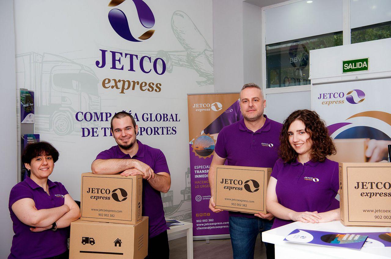 Nº 105. Jetco Express. 919 55 21 00  www.jetcoexpress.com