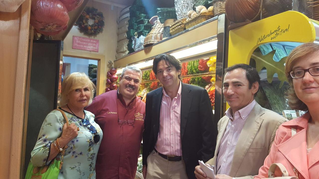 En Gold Gourmet, junto a Luis Pacheco.