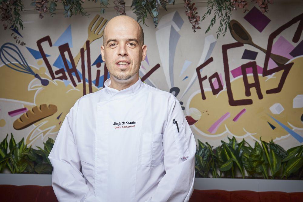 Borja Bachiller, chef ejecutivo.