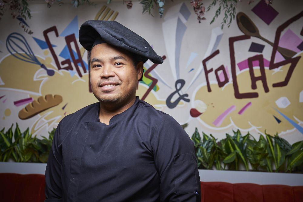 John Michael, cocinero.