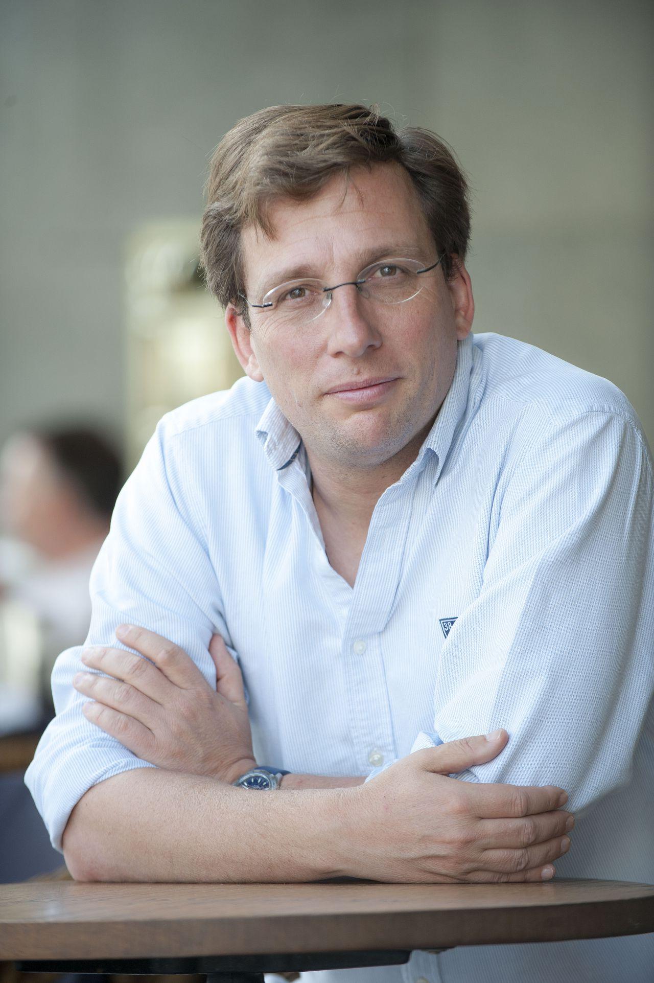 Entrevista con José Luis Martínez-Almeida, nuevo portavoz del Partido Popular en el Ayuntamiento de Madrid