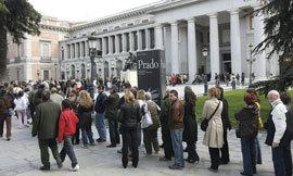 Aumentan los visitantes en el Museo del Prado