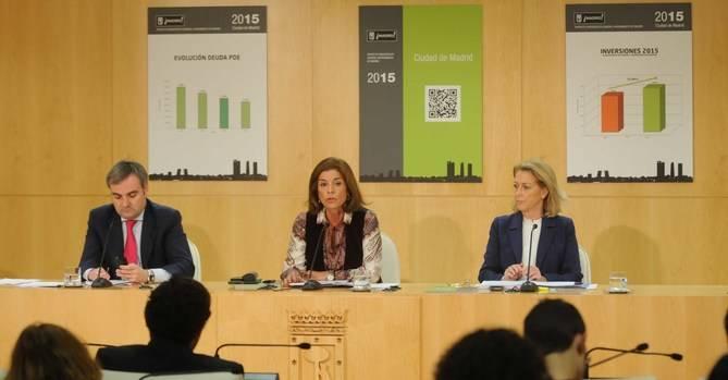 Botella presentó el jueves el proyecto de presupuestos. (Foto: Ayto. Madrid)