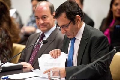 Donesteve compareció ante la Comisión de Familia. (Foto: Miguel G. Rodríguez)