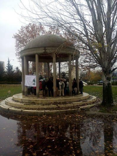 Los vecinos se movilizan para defender el parque de Villa Rosa