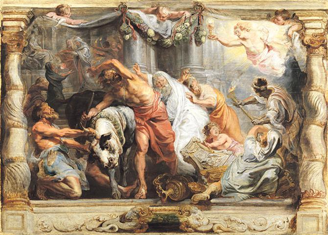 El Rubens restaurado que vuelve al Prado
