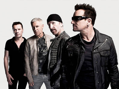 U2 anuncia 'THE iNNOCENCE + eXPERIENCE TOUR'