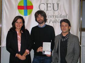 Presentada en el CEU la novela 'El cielo de Lima', premiada con el Ojo Crítico de Narrativa de RNE