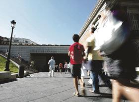 El Prado pierde ingresos y visitantes