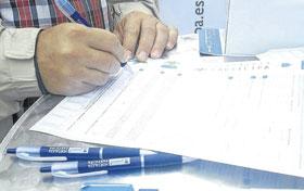 Villaverde participa en un 'referéndum'