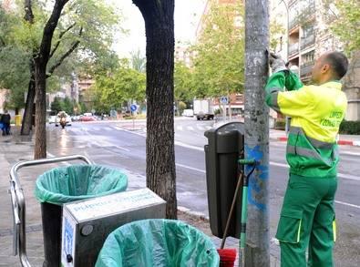 El plan de limpieza sigue 'repasando' Guindalera