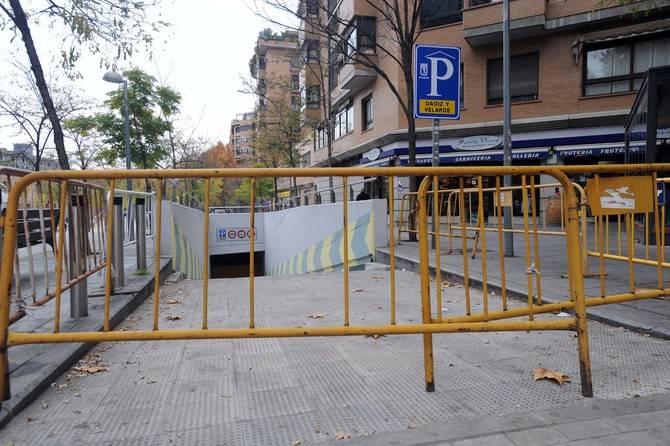 El aparcamiento de rotación continúa cerrado.