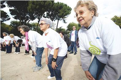 Madrid quiere a sus mayores