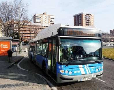 Pedirán marquesinas para el 171 de la EMT en Valdebebas