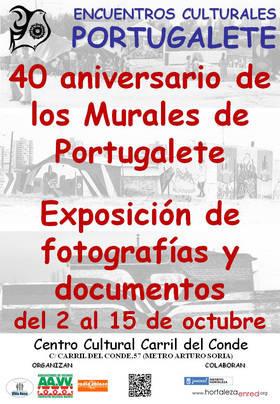 40 años de arte reivindicativo en Portugalete