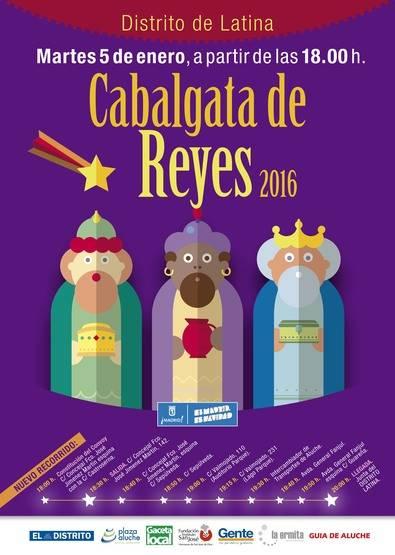 Ahora Madrid presume de la 'nueva' cabalgata de Latina