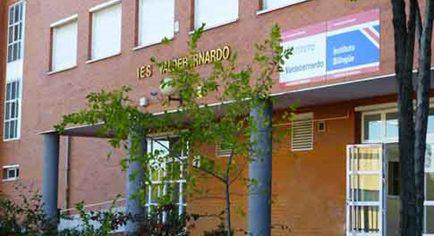 Instituto bilingüe de Valdebernardo.