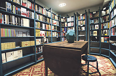 Una librería de las de siempre, en el barrio de Salamanca
