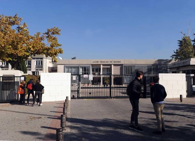 El Liceo Francés es el centro de la comunidad gala en Hortaleza.