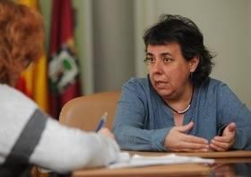 Marta Gómez también preside San Blas-Canillejas.