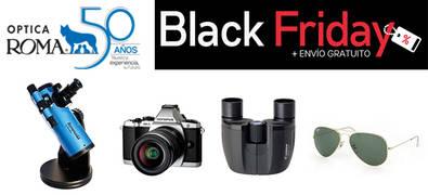 Optica Roma se une a la locura de precios del 'Black Friday' a través de su Web