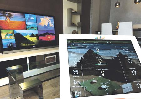 El control remoto del confort es una de las funcionalidades más valoradas en un hogar digital.