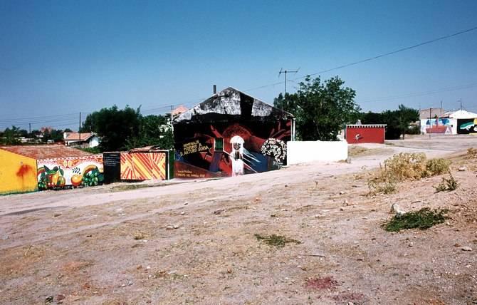 Plaza de los Murales de Portugalete, en 1975.