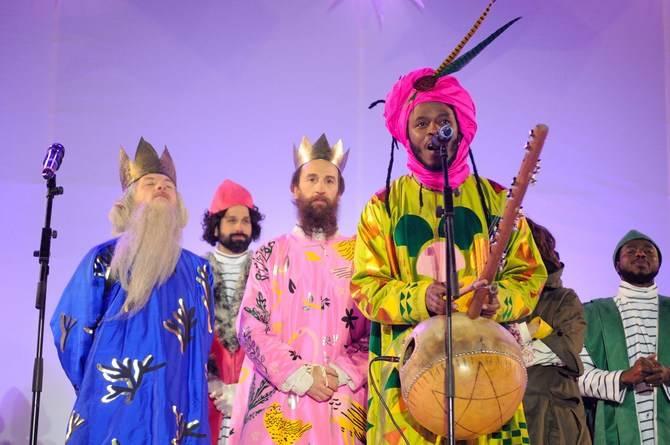 Imagen de la Cabalgata de los Reyes Magos de este año en Madrid.