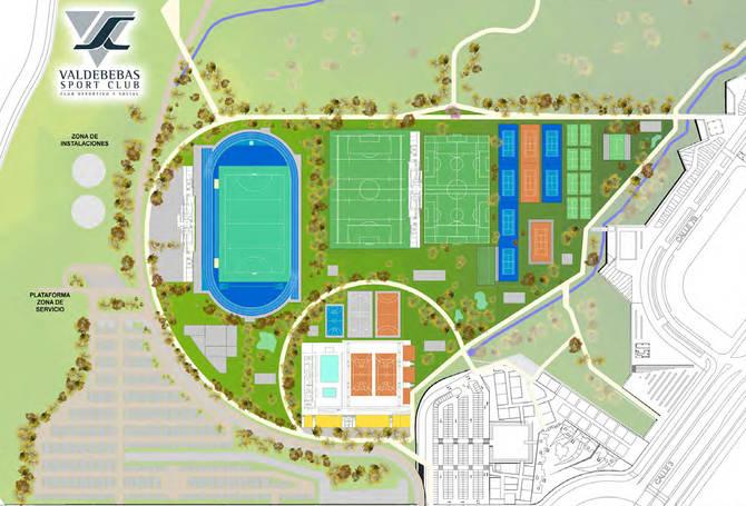 Proyecto del centro deportivo Valdebebas Sport Club.