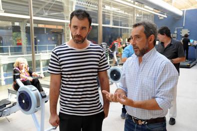 El concejal de Retiro pasa revista al polideportivo Daoíz y Velarde