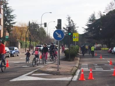 En bici por Arturo Soria un domingo al mes