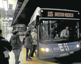Avenida de América recupera cuatro buses