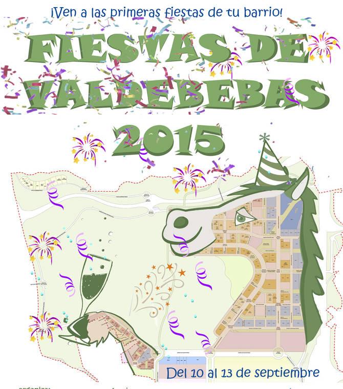 Cartel de las Fiestas de Valdebebas