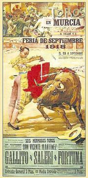 La Edad de Oro de la cartelería taurina