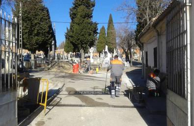 El cementerio de Canillas, de obras