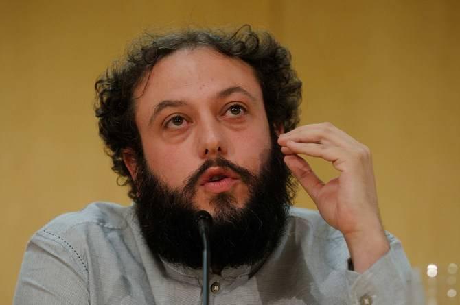 Guillermo Zapata en rueda de prensa.