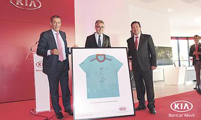 Kia e Ibericar inauguran nuevas instalaciones en Madrid