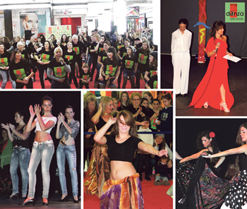 En la Escuela de Danza Nuria Montes, dirigida por la gran bailarina que le da nombre, se imparten clases para todo tipo de alumnos y para todas las edades.