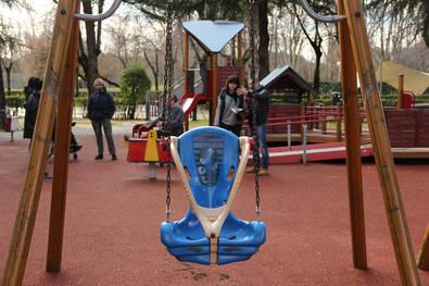 Primer parque adaptado en la Cuña Verde