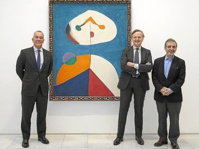El Museo Reina Sofía ha concluido la restauración del lienzo 'Portrait II', de Joan Miró.