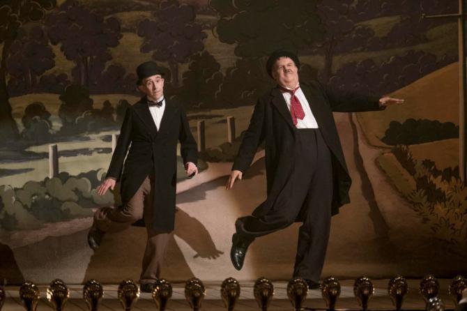 Desde el próximo viernes, el 'biopic' El gordo y el flaco pone el foco en un episodio poco conocido de las vidas del dúo cómico.